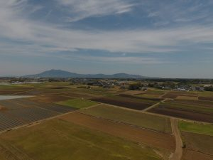 筑波山と広大な田園風景圧巻です。