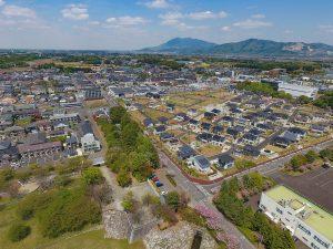 まだまだ発展を続ける桜地区が見渡せます。