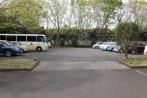 手代木公園の駐車場