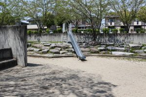 スペースが広いので小さな子供たちでも安心して遊ばせることができそうです。