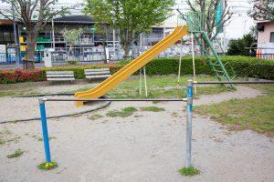 小さいお子さんも遊べます。