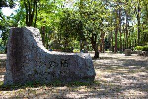 赤塚公園。洞峰公園と同様に、歴史と偉大さを感じます。